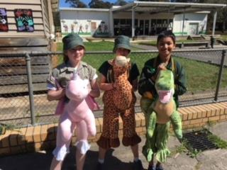 Even our senior students are enjoying the new role play costumes at recess and lunch!