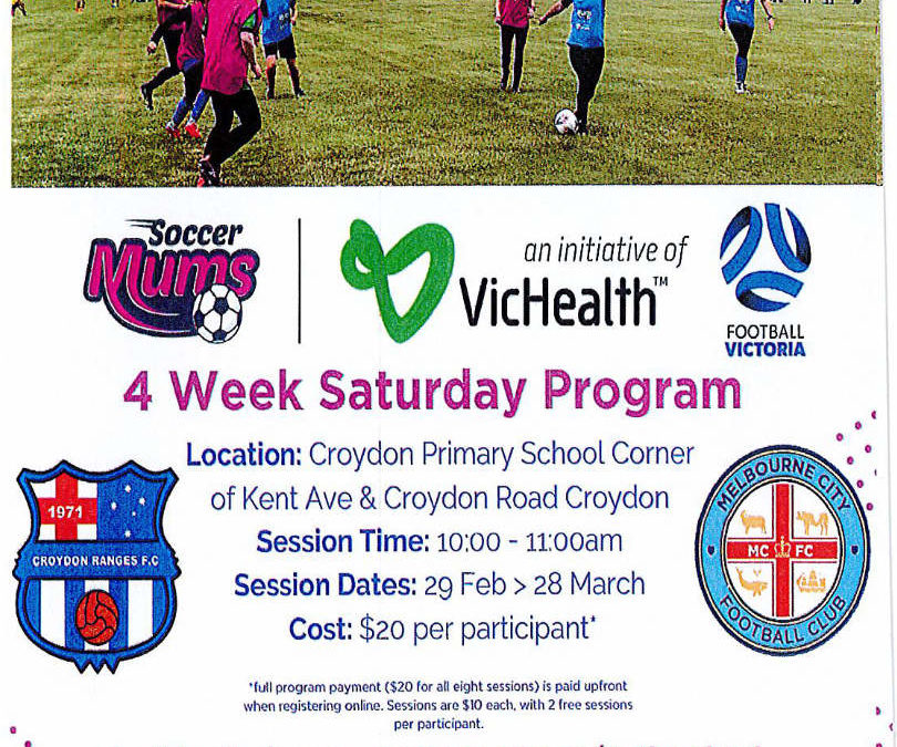 SOCCER MUMS IS ON AGAIN!